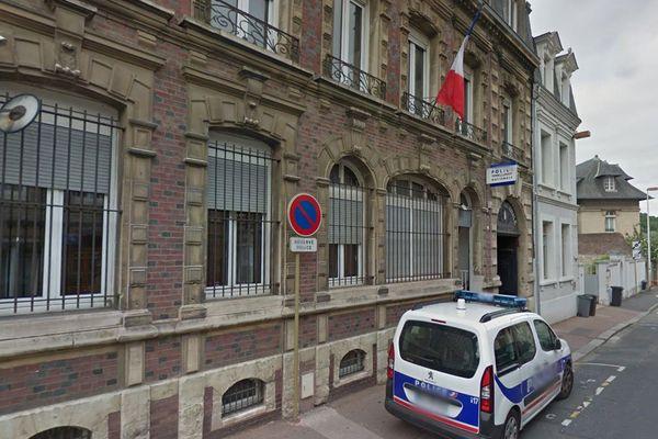 Le commissariat de police de Fécamp