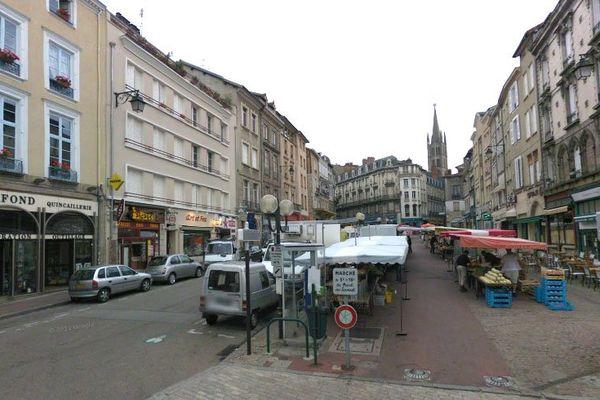 """Place des Bancs à Limoges: plusieurs enseignes de ce quartier vont participer à l'opération """"Commerçant voisin"""" vendredi 31 mai 2013"""