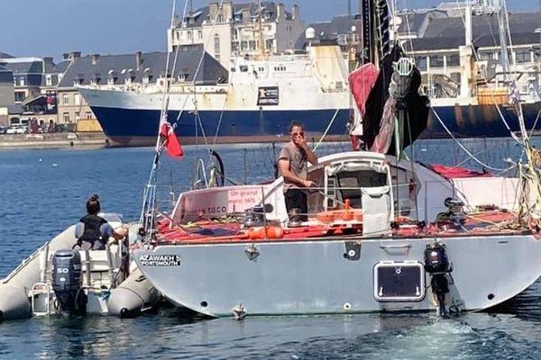 """Parti de Saint-Malo le 11 août, le voilier """"Azawakh 5"""" n'a plus donné signe de vie depuis samedi 15 août."""