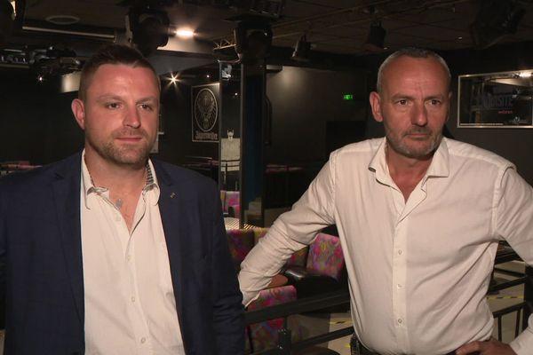 Régis Toutain et Jean-Pierre Le Berrigo sont les co-gérants de la discothèque Le Missyl à Pontivy (56)