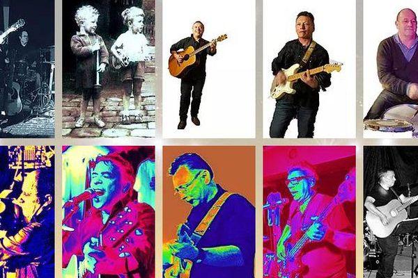4 musiciens de Poitiers font revivre sur scène la musique des années 70/80.