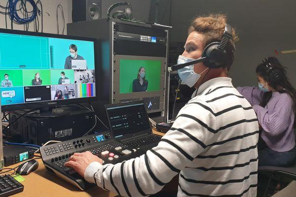 Une émission de télévision sur Zoom pour organiser la consultation des habitants de Vichy Communauté sur le projet de territoire jusqu'en 2035
