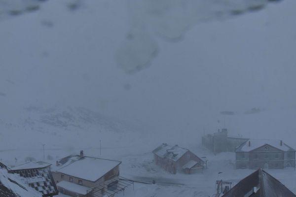 capture d'écran sur la webcam Col du Lautaret Serre-Chevallier