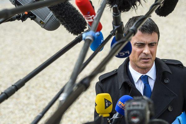A quelques jours des scrutins départementaux, Manuel Valls tente de mobiliser l'électorat de gauche.