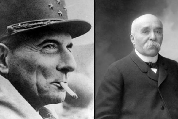 Jean de Lattre et Georges Clémenceau sont tous les deux nés à Mouilleron-en-Pareds.
