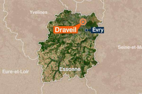 Un homme né en 1963 retrouvé mort près de la Seine, à Draveil, samedi 21 janvier 2017.