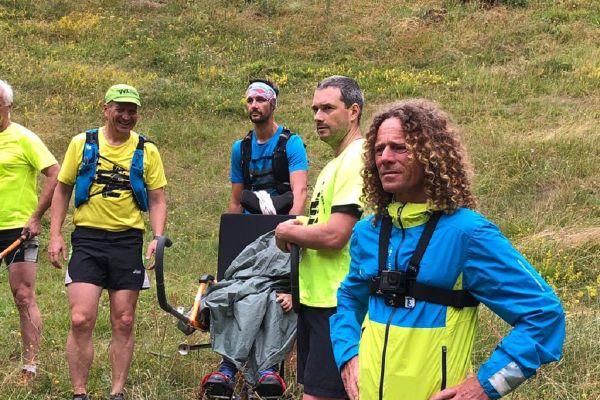 """Dans le Parc des Volcans d'Auvergne, un """"run tchatche"""" était organisé en présence du célèbre coureur Christophe Le Saux."""