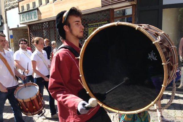 Le festival du tambour à Saint-Brieuc