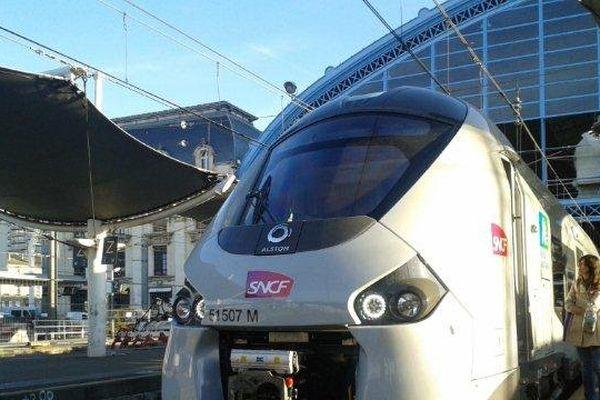 Les nouveaux TER viennent d'être mis en circulation en Aquitaine