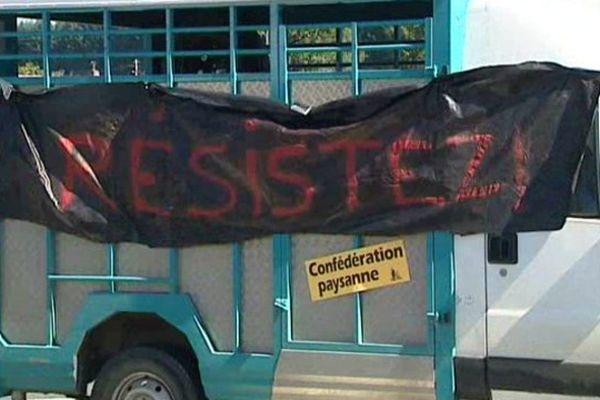 Une manifestation sans coup d'éclat, mais avec un message fort.