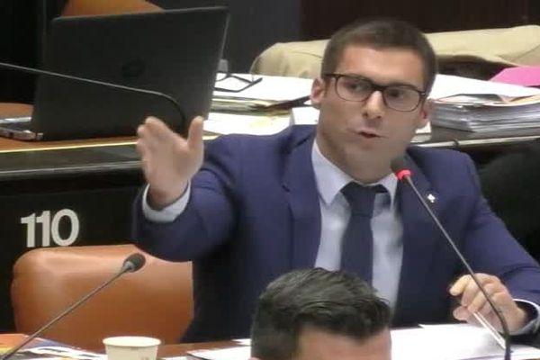 Julien Odoul, Président du groupe du Rassemblement National