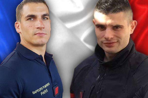 Le caporal-chef Simon Cartannaz et le sapeur de première classe Nathanaël Josselin sont décédés lors d'une explosion dans un commerce à Paris (IXe).