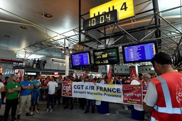 Déjà à la fin du mois de mai le personnel d'Air France s'était mobilisé.