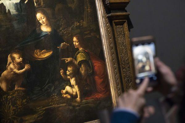L'exposition Léonard de Vinci, au Louvres - Photo d'illustration