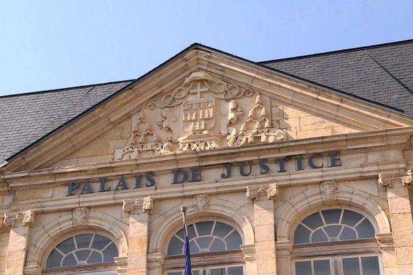 Le palais de justice de Nevers, dans la Nièvre.
