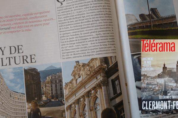Pour son numéro du 7 au 13 octobre, le magazine Télérama a réalisé un dossier sur la candidature de Clermont-Ferrand pour devenir capitale européenne de la culture. Le produit final n'a pas plu au maire de la ville, Olivier Bianchi.