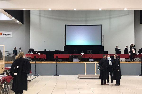Le procès des 18 prévenus devait se tenir salle Mermoz à Toulouse.