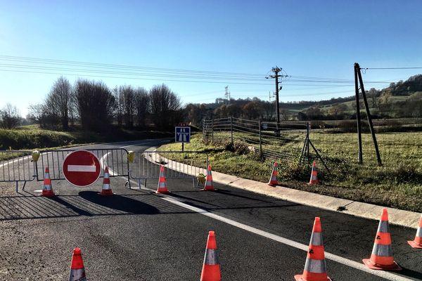Dimanche 18 novembre dans la matinée, l'A4 reste fermée à hauteur de Ste Marie-aux-Chênes.