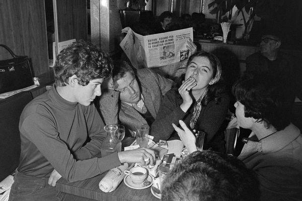 Daniel Cohn-Bendit photographié par Tony Brosco le 8 mai 1968.