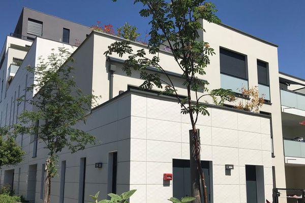 Alcys, promoteur régional, construit entre 150 et 200 logements par an. Ici, Place de l'Etoile à Strasbourg