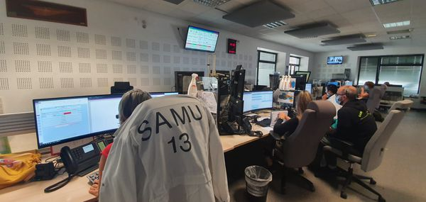Les régulateurs du SAMU 13