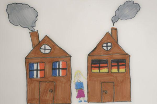 La déchirure des enfants issus de couples binationaux divorcés.