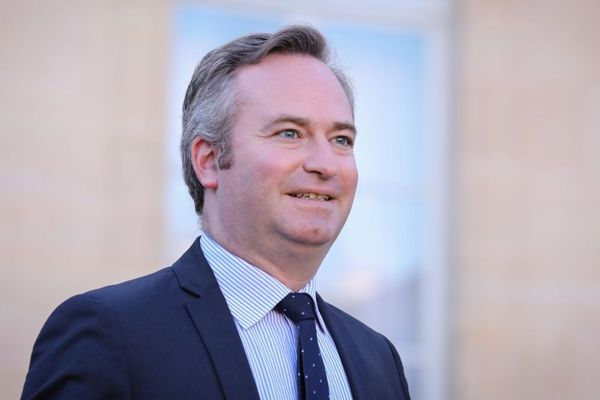 Jean-Baptiste Lemoyne, le Secrétaire d'État auprès du ministre de l'Europe et des Affaires étrangères