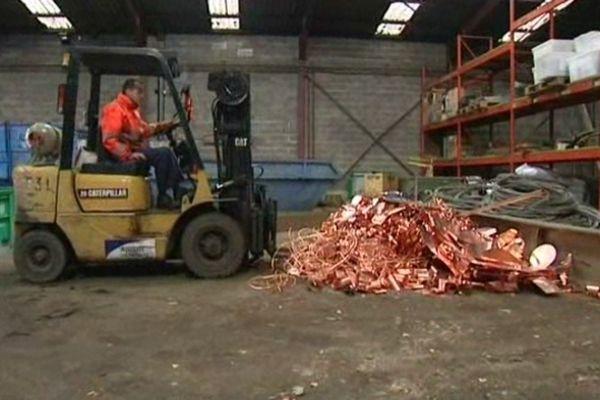 Ce recycleur colmarien de métaux s'est fait cambrioler huit fois en deux mois.