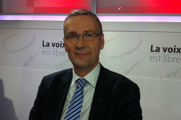 Pascal Blanc, candidat UDI à la mairie de Bourges