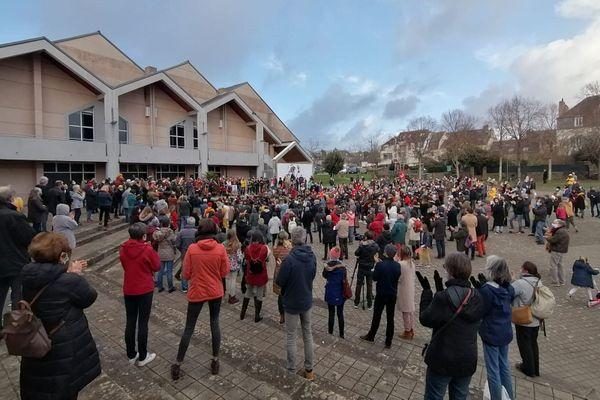 Une forte mobilisation à Auray (Morbihan) pour la réouverture des lieux de culture