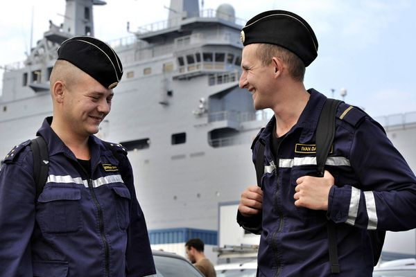 200 marins sont partis sur le Vladivostok pour des essais en mer