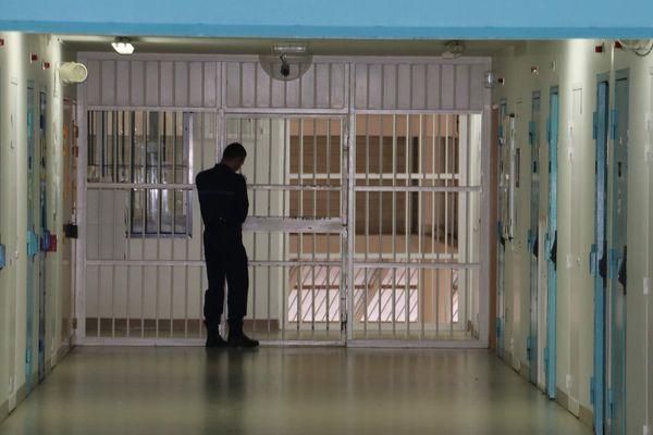A l'intérieur de la prison de Lille-Sequedin