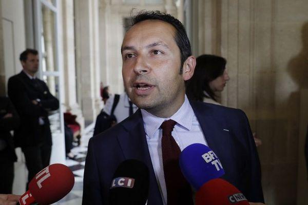 Sébastien Chenu à l'Assemblée Nationale.