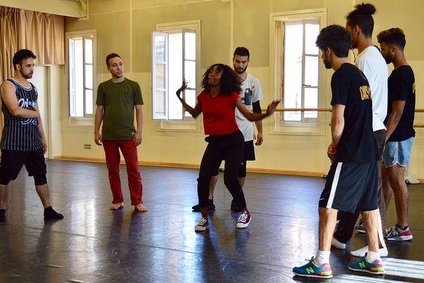 """Dernières répétitions pour les danseurs de """"Danser Casa"""" - 21 juin 2018"""