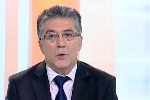 Robert Navarro - sénateur PS de l'Hérault, invité du 19/20 Languedoc-Roussillon - archives