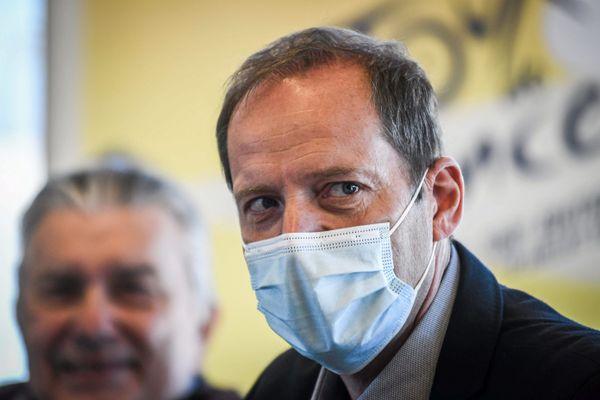 Christian Prudhomme, le directeur du Tour de France était de passage à Nîmes ce mardi qui accueille cette année pour la 10ème fois une arrivée.