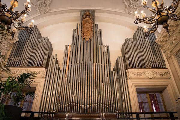 L'orgue de la salle des fêtes de la ville de Reims, inauguré en 1928