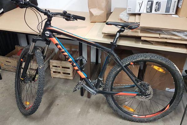 L'un des vélos volés ce week-end au collège.