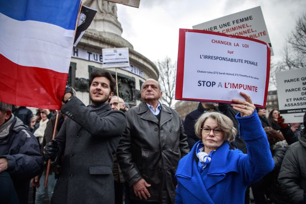 Manifestation à Paris, le 5 janvier 2020, pour que le meurtrier de Sarah Halimi soit jugé