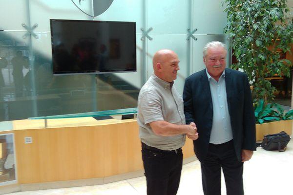 Frédéric Antonetti revient sur le banc du FC Metz (Photo d'archive)