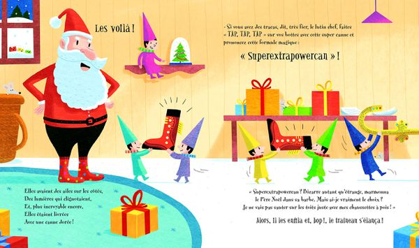 Les bottes magiques du Père Noël de Mark Gaito et Sébastien Chebret