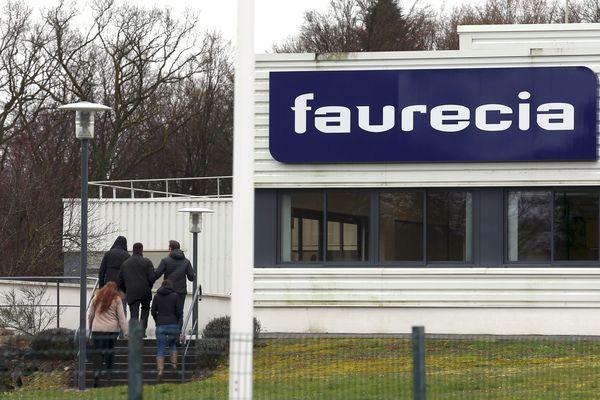 L'usine Faurecia de Bavans dans le Doubs