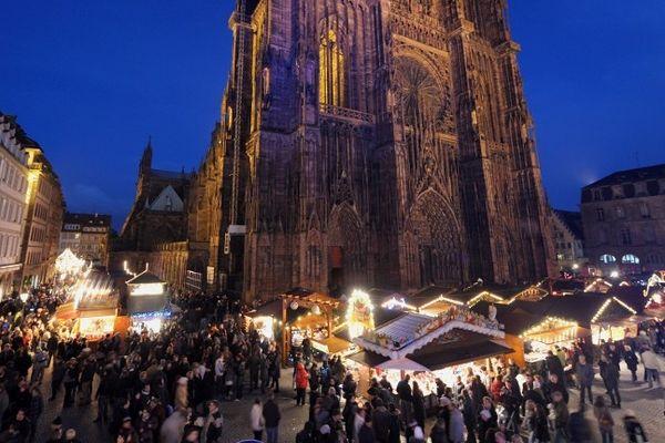 L'année dernière, 2 millions de visiteurs se sont rendus au Marché de Noël de Strasbourg.