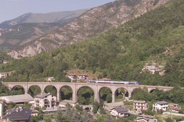 La ligne Nice/Còni/Ventimiglia