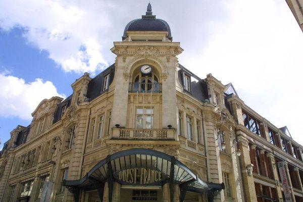 Le siège historique de Ouest-France rue du Pré-Botté à Rennes