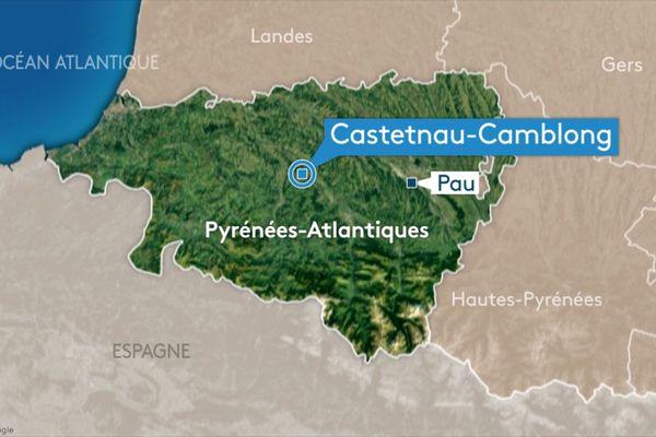 L'accident s'est produit à Castetnau-Camblong.