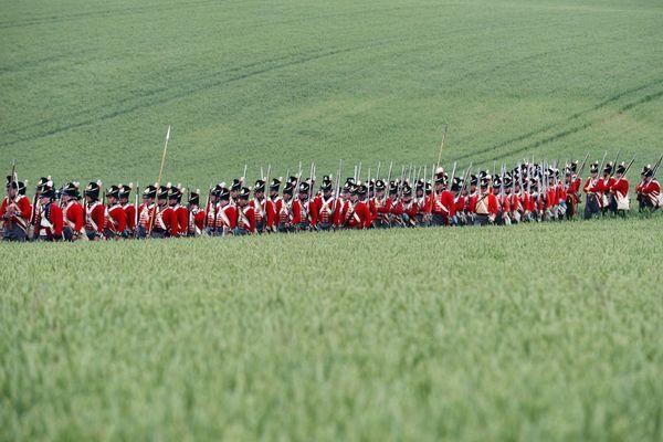 Reconstitution dans un champs