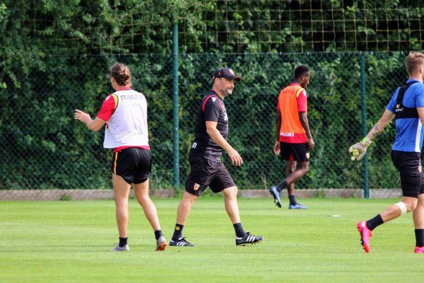 Franck Haise a retrouvé les terrains de la Gaillette.