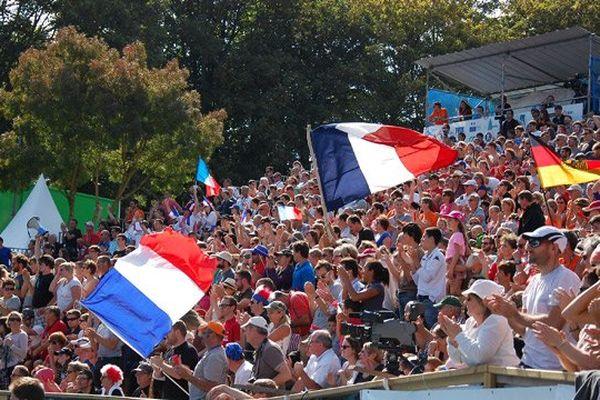 Un public nombreux et très chaleureux a assisté au Championnat du monde de kayak polo à Thury Harcourt ce samedi 27 septembre 2014