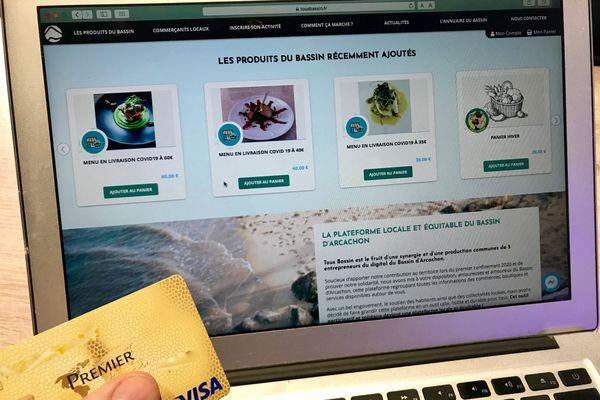 Le site Tousbassin.fr propose du click and collect solidaire avec les commerçants et artisans des communes du Bassin d'Arcachon